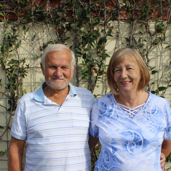 Foster carers Lyn and Roy in Adelaide